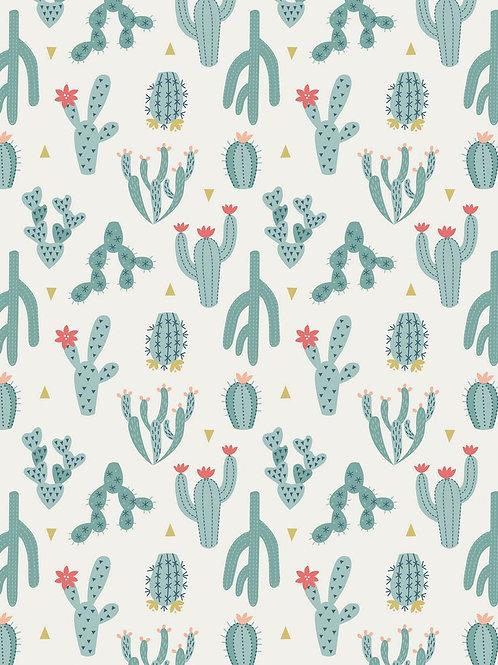 Desert Cactus Blue - Per 0.5m