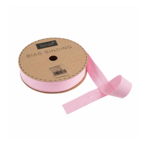 25mm Light Pink Bias Binding
