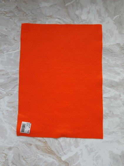 The Craft Factory Felt Orange - Per Sheet