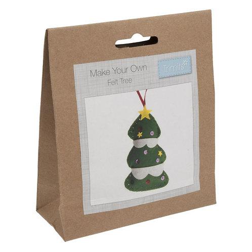 Felt Christmas Tree Decoration Kit