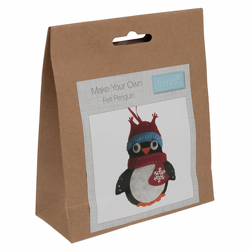 Felt Penguin Decoration Kit