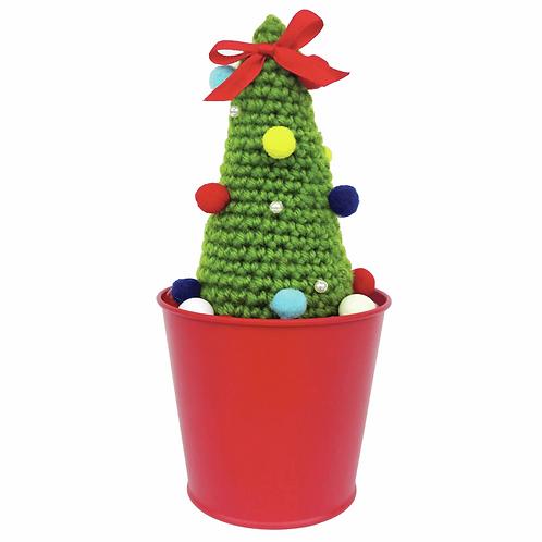 Crochet Christmas Tree Decoration Kit