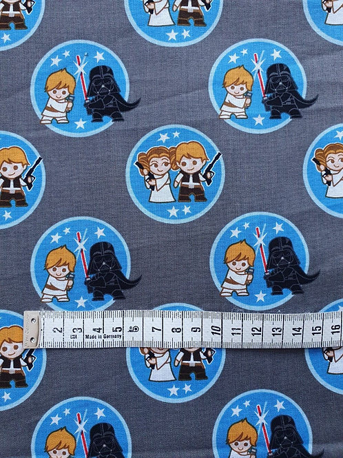 Star Wars Kawaii Duo Tokens - Per 0.5m