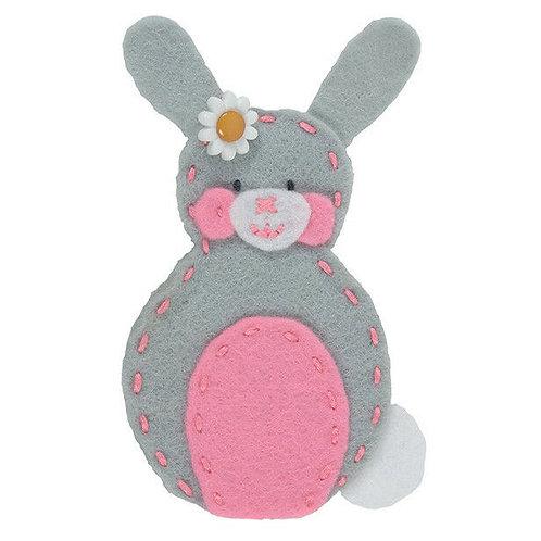 Anchor My 1st Felt Finger Puppet Kit - Bunny