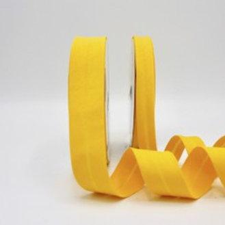 18mm Bright Yellow Bias Binding