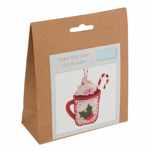 Felt Hot Chocolate Decoration Kit