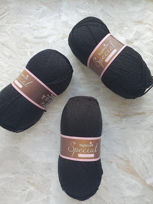 Black Double Knit
