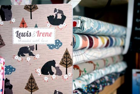 Lewis & Irene Fabric