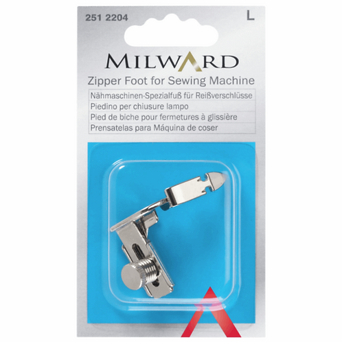 Milward Zipper / Piping Foot