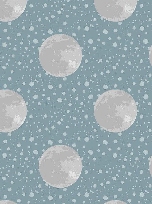 Moon on Blue/Grey - Per 0.5m