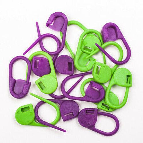 KnitPro Locking Stitch Ring Markers