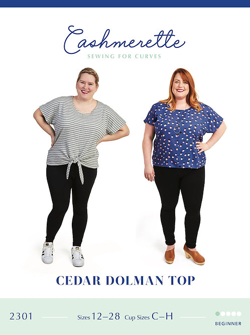 Cedar Dolman Top Pattern by Cashmerette