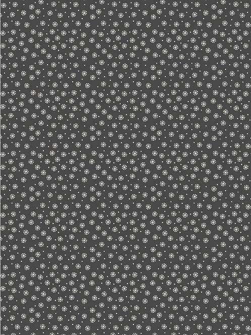 Grey Snowflake - Per 0.5m
