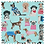 Thumbnail: Oval Sewing Box - Dogs in Jumpers