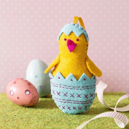 Chick in Egg Felt Craft Mini Kit - Corinne Lapierre
