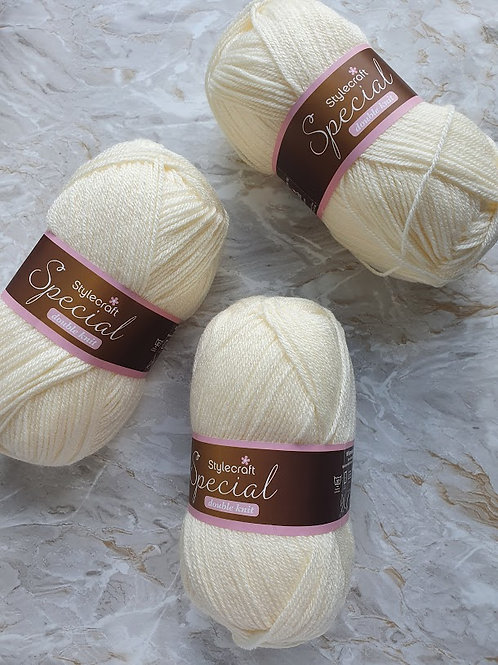 Cream - Stylecraft Special Double Knit