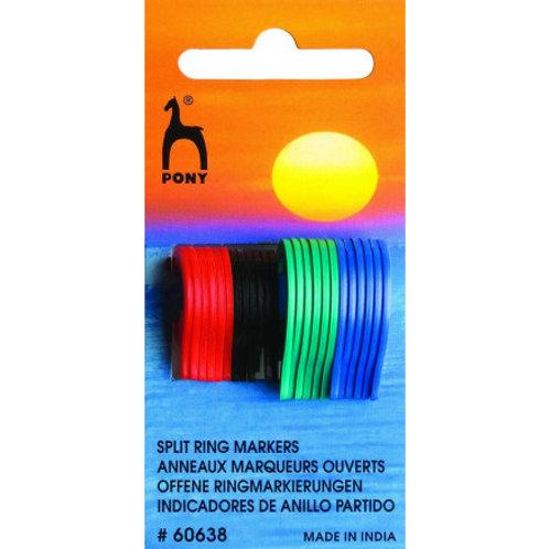 Pony Flat Ring Stitch Markers