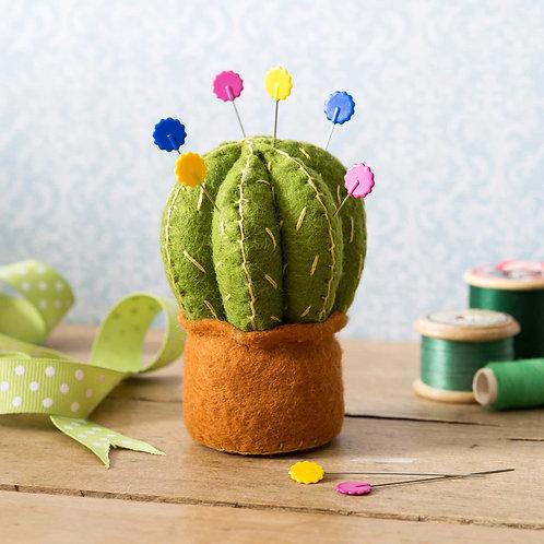 Cactus Pincushion Felt Craft Kit - Corinne Lapierre