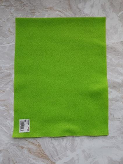 The Craft Factory Felt Lime - Per Sheet
