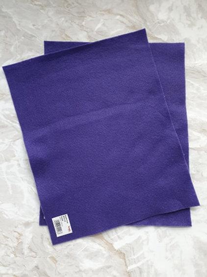 The Craft Factory Felt Purple - Per Sheet