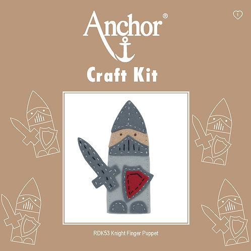 Anchor Felt Finger Puppet Kit - Knight