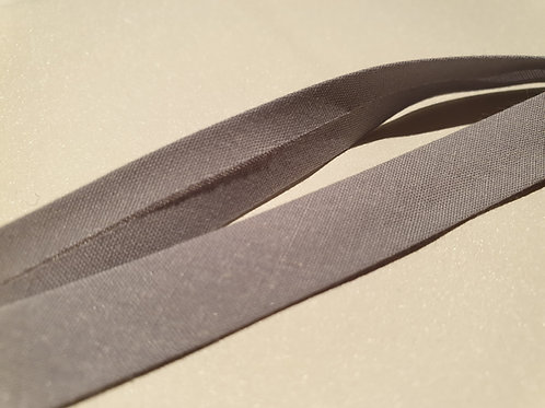 13mm Light Grey Bias Binding