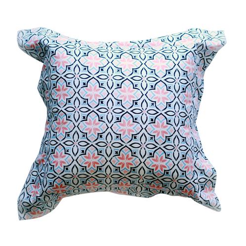 Frilly cushion