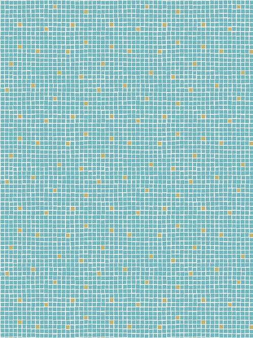 Turquoise Little Tiles - Per 0.5m