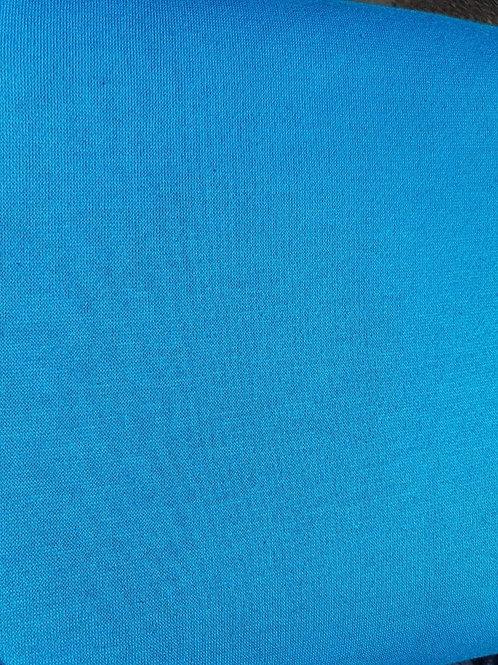 Teal Sweatshirt Jersey - Per 0.5m