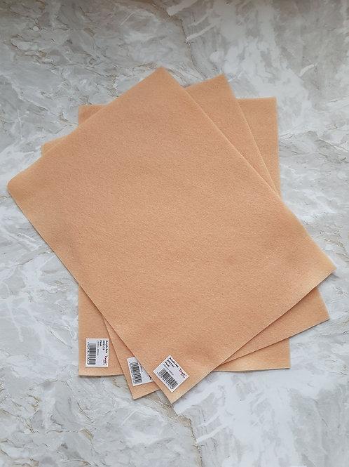 The Craft Factory Felt Flesh - Per Sheet