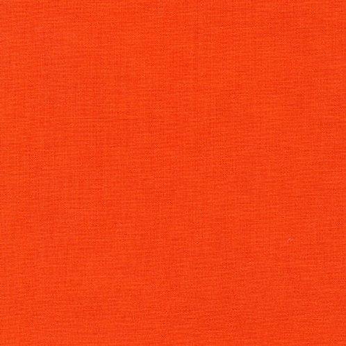 Kona Solids - Tangerine - Per 0.5m