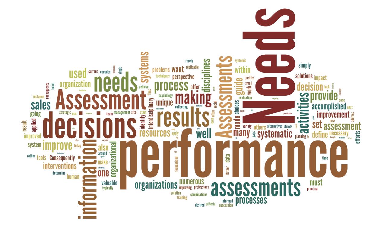 **Needs Assessment Presentation