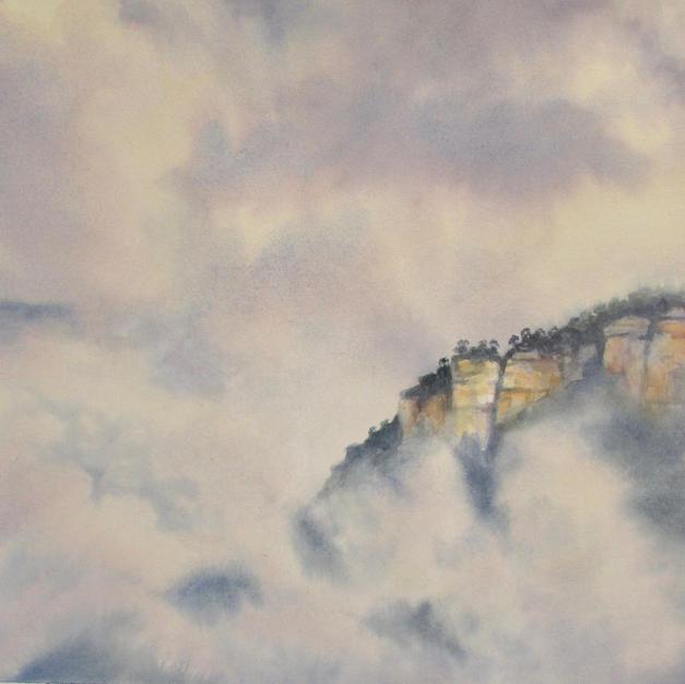 Mists around Mount solitary
