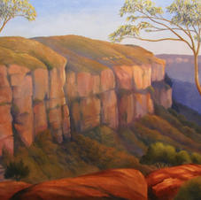 Afternoon Light, Kings Tableland, Wentworth Falls