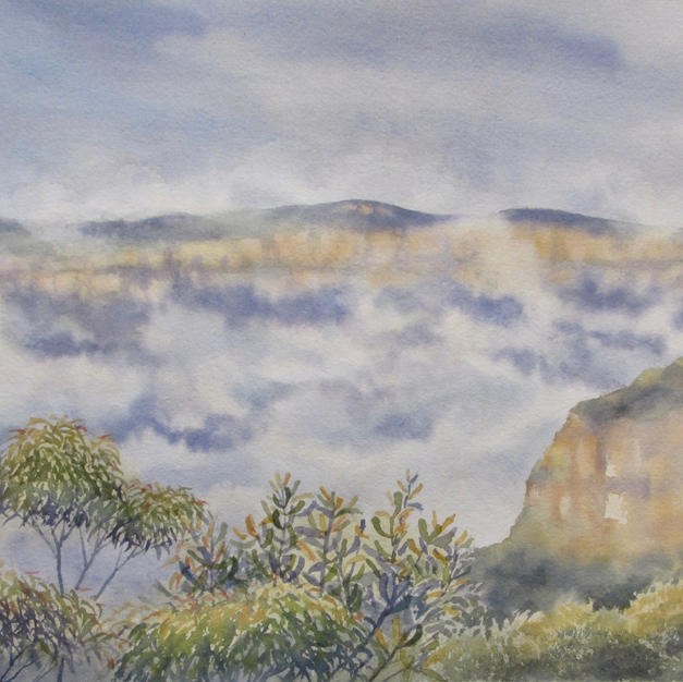 Rising Mist, Valley of the Waters, Wentworth Falls