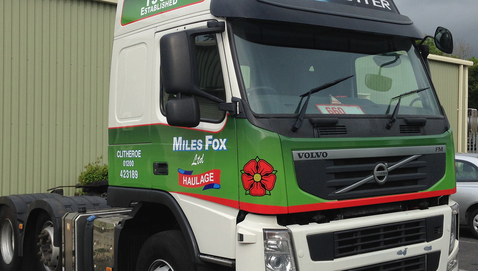 Commercial Vehicle Graphics _ Clitheroe,