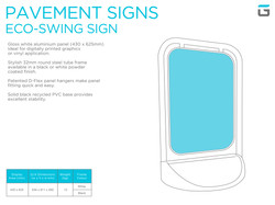 Grafx_Sign Systems_Pavement Signs_Eco sw