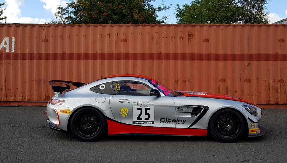 Motorsport Vinyl Wrap Grafx Ciceley AMG