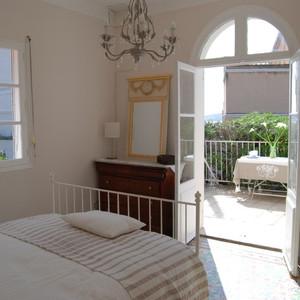 Master Bedroom onto Terrace