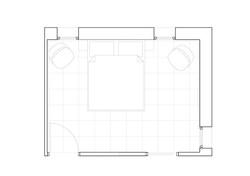 plan chambre