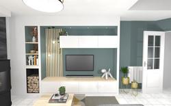 3D meuble TV