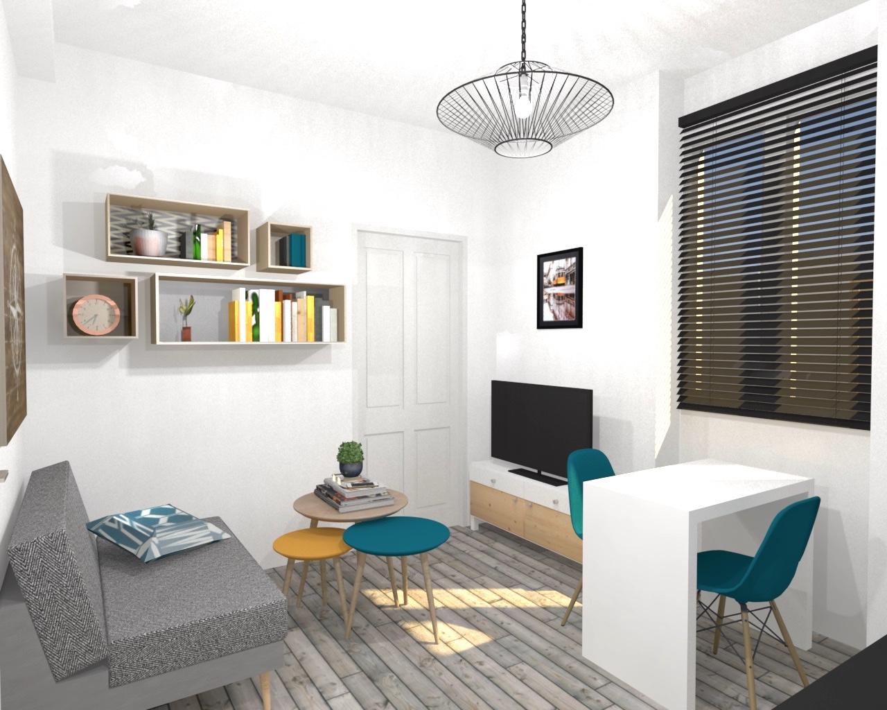 Deco Petit Salon Appartement appartement à louer à toulouse | mint-design