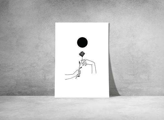 Mains sous la lune - Marie Fré Dhal