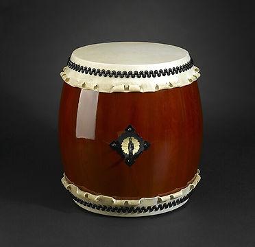 Japanese taiko style drum