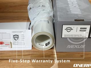 OnerPro's 5-Step Warranty System
