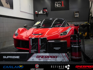 The LaFerrari Aperta with OnerPro Supreme