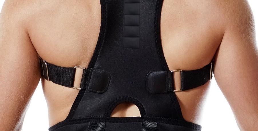 חגורה ליישור הגב והכתפיים - לגברים ונשים
