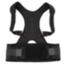 חגורת גב לתיקון היציבה בצבע שחור.jpg