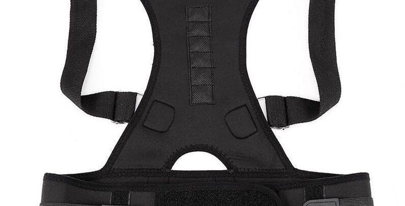 Medium חגורה לתיקון היציבה צבע שחור