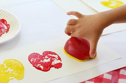 Apple Painting Crafts
